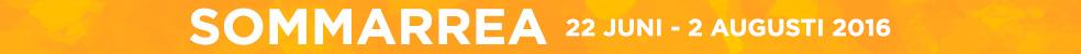 SOMMARREA 22. juni – 2. august 2016