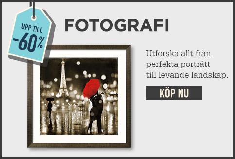Upp till -60 % FOTOGRAFI. Utforska allt från perfekta porträtt till levande landskap. KÖP NU