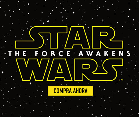 Star Wars - The Force Awakens. Compra Ahora.