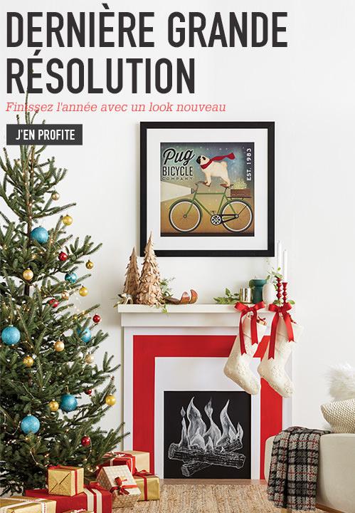 Dernière Grande Résolution. Finissez l'année avec un look nouveau. J'en profite