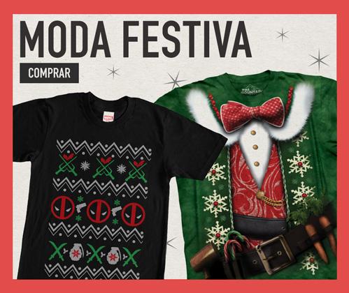 Moda festiva. Entre no clima de fim de ano com roupas natalinas. Comprar