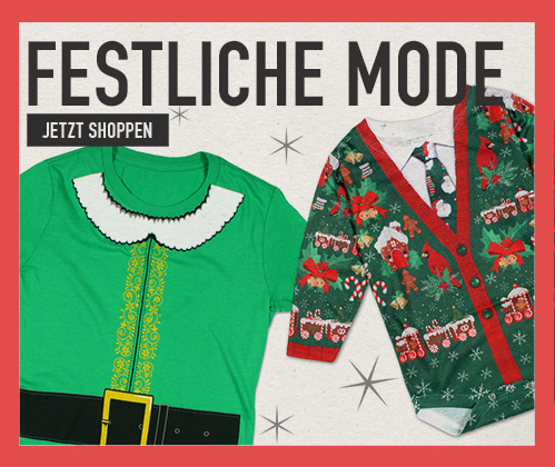 Festliche Mode. Kommen Sie in Weihnachtsstimmung mit unserer Mode. Jetzt shoppen
