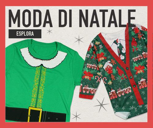 Moda di Natale Vestiti per sentire lo spirito delle feste di Natale. Esplora