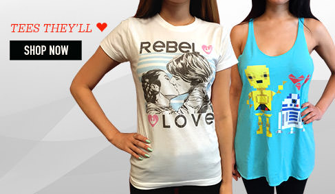 TEES THEY'LL ♥. SHOP NOW.