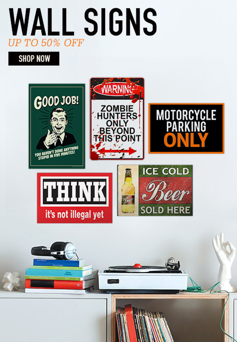 UP TO 50% OFF WALL SIGNS. Find art for your sweetie. Shop Now.