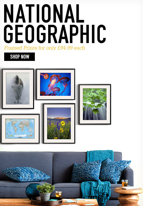 National Geographic Framed Prints for only £94.99 each. SHOP NOW