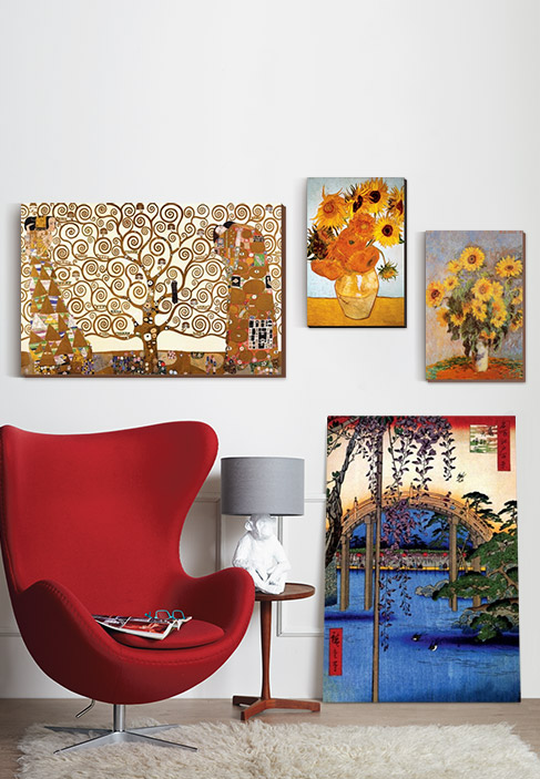 CANVAS WALL ART. Quality Craftmanship, Styles to suit every room and a Great Value. DISCOVER
