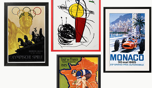 Vintage Art Posters. SHOP NOW