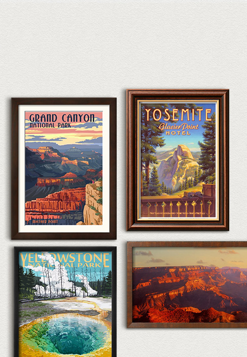 Zum 100. Geburtstag der Nationalparks. Juhlista Yhdysvaltojen rakastettuja puistoja. Tutustu