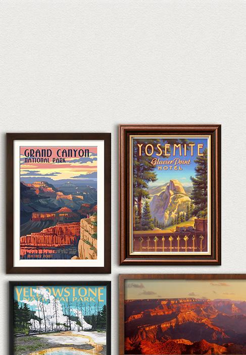 Amerikaanse nationale parken honderd jaar. Vier wat er in de afgelopen eeuw bereikt is in de prachtige nationale parken. Bekijken
