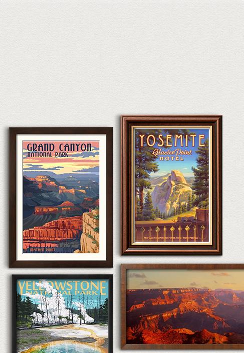 Centenário do Serviço Nacional de Parques. Celebre os parques <br>mais amados dos EUA. Veja mais