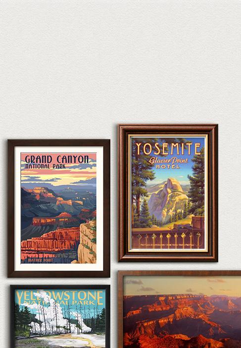 Zum 100. Geburtstag der Nationalparks. Feiern Sie die beliebtesten Parks der USA. Hier entlang
