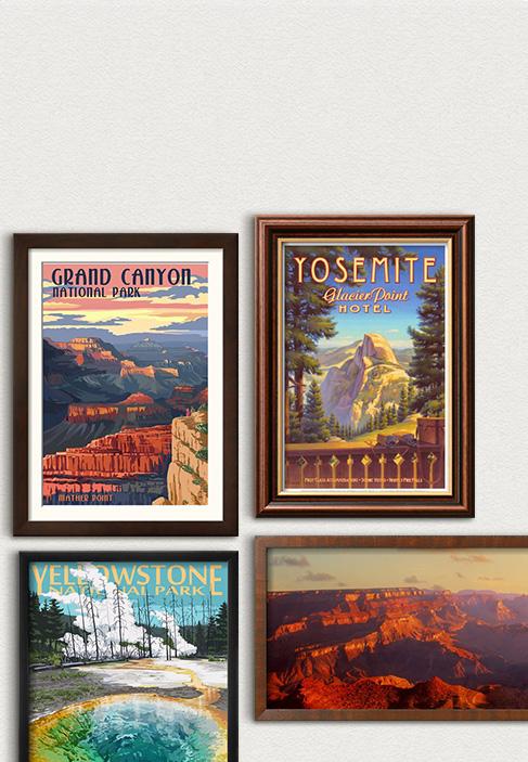 Nationalparkernas 100-årsjubileum Fira USA:s älskade nationalparker. Upptäck