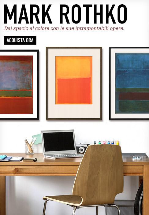 Mark Rothko. Dai spazio al colore con le sue intramontabili opere. Acquista ora.