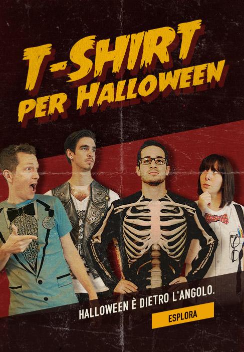 T-Shirt per Halloween. Halloween è dietro l'angolo. Esplora.