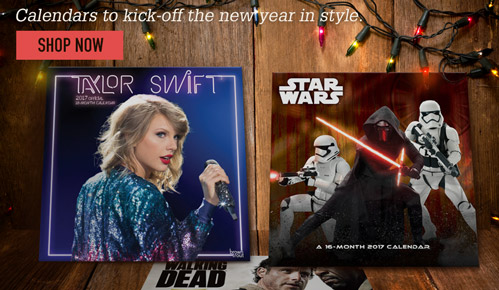 Calendars to kick-off the new year in style. - Shop now