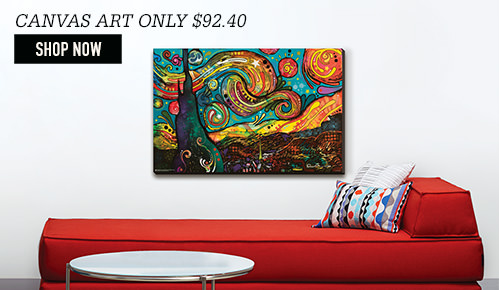 Canvas Art. Shop Now.