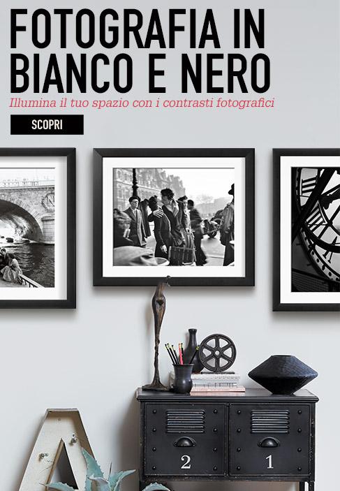 FOTOGRAFIA IN BIANCO E NERO. Illumina il tuo spazio con i contrasti fotografici. Scopri
