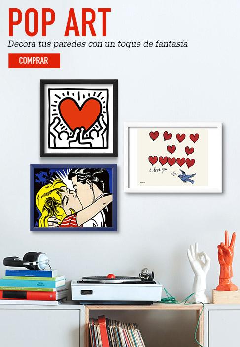 POP ART. Decora tus paredes con un toque de fantasía. COMPRAR