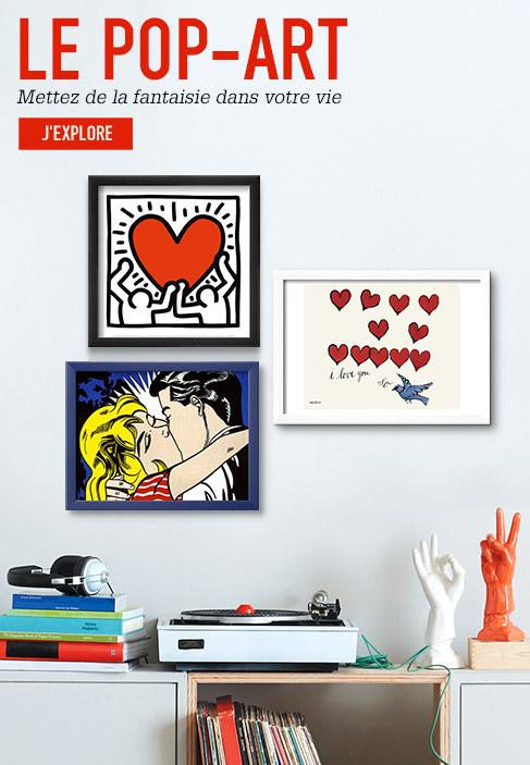 LE POP-ART. Mettez de la fantaisie dans votre vie. J'explore
