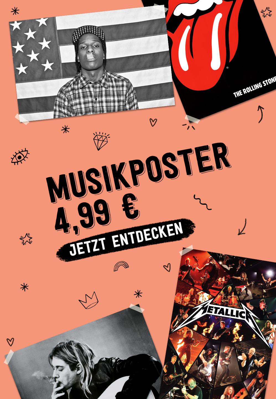 Musikposter 4,99 €. JETZT ENTDECKEN