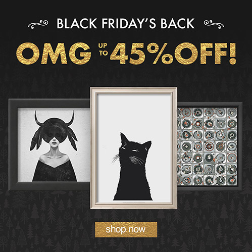OMG: Up to 45% Off! Black Friday's Back. Shop Now