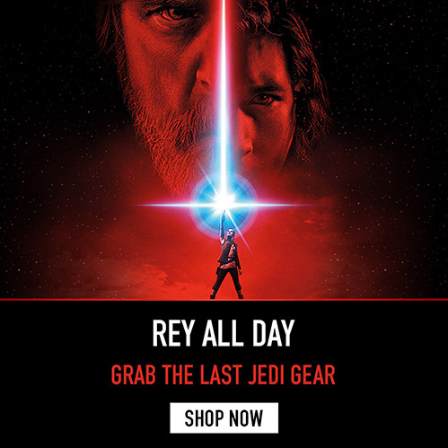 Rey All Day. Grab The Last Jedi Gear. Shop Now