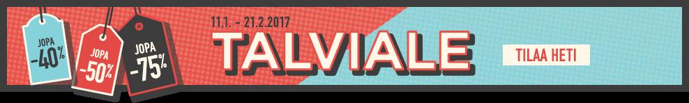 Talviale. 11.1. - 21.2.2017. TILAA HETI