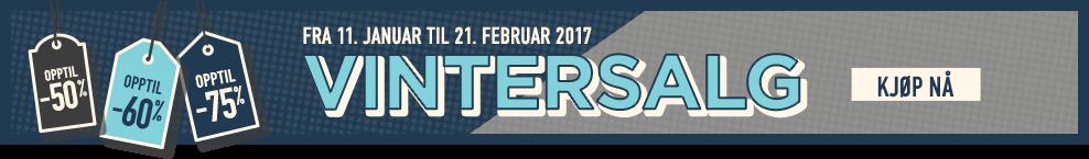 VINTERSALG. fra 11. januar til 21. februar 2017. KJØP NÅ
