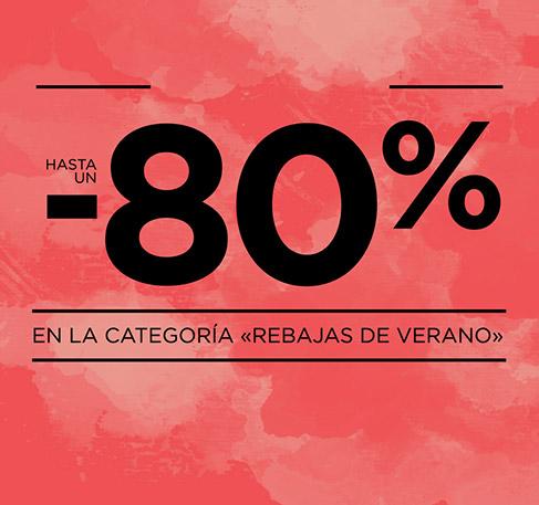 Remate Final Hasta un -80% en la categoría «Rebajas de verano»*. COMPRA AHORA. *Oferta válida del 29 de julio al 2 de agosto de 2016.