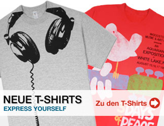 Neue T-Shirts - Express Yourself - Zu den T-Shirts
