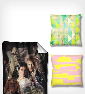 Cozy Throws & Pillows. Shop Now