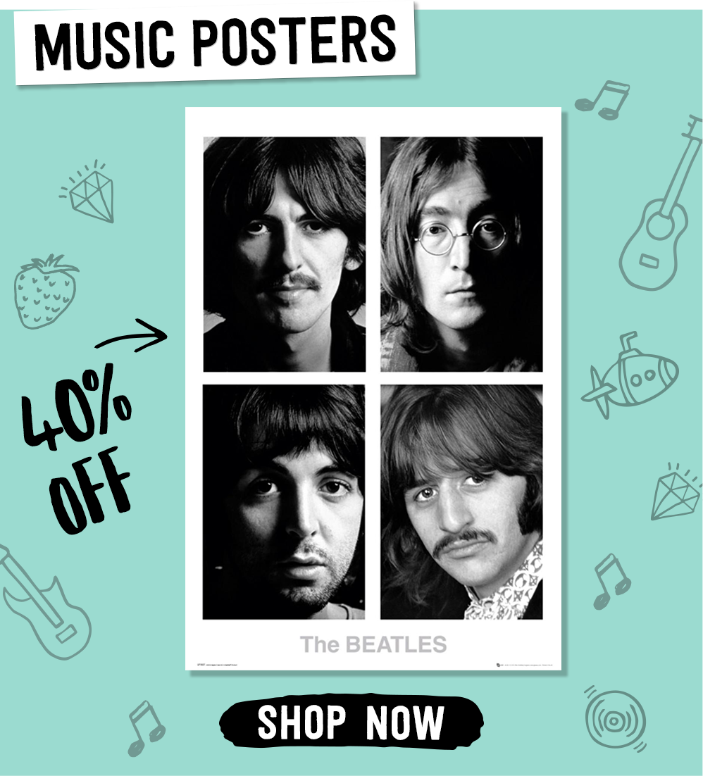 Music Posters. Shop Now