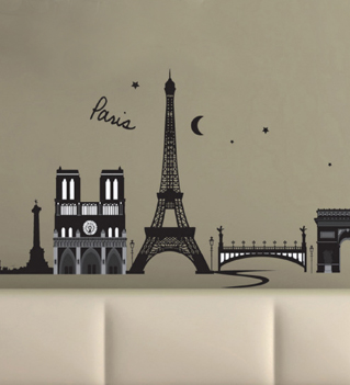 Wall decals and wall stickers - Stickers muraux paris ...