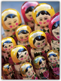 Babushka Dolls, Riga, Latvia, Baltic States, Europe Photographie par Yadid Levy sur AllPosters.fr