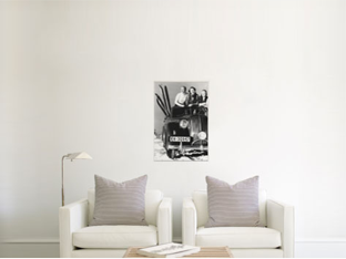How a 20x30 canvas print appears in a room