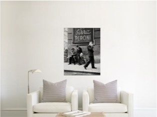 How a 30x40 canvas print appears in a room