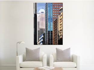 How a 40x60 canvas print appears in a room
