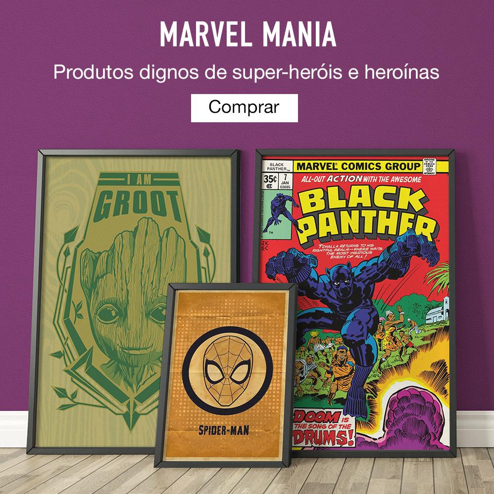 Marvel Mania. Roupas dignas de super-heróis e heroínas. Comprar