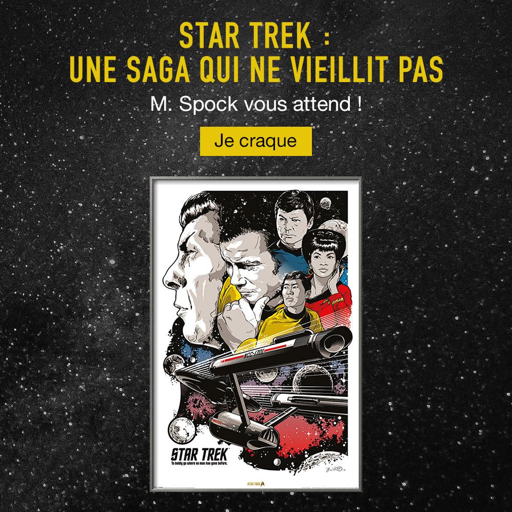 Star Trek : une saga qui ne vieillit pas. M. Spock vous attend ! Je craque