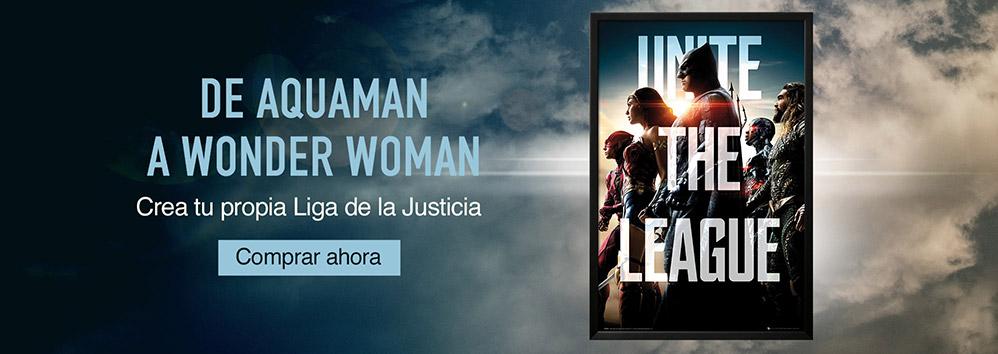 De Aquaman a Wonder Woman. Crea tu propia Liga de la Justicia. Comprar ahora