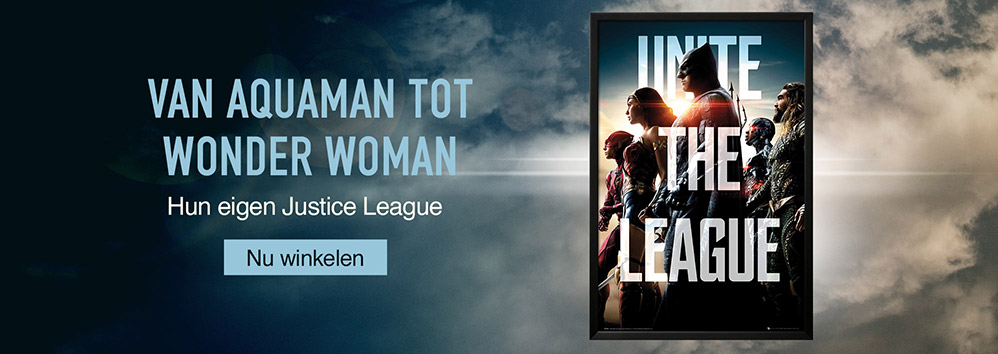 Van Aquaman tot Wonder Woman. Hun eigen Justice League. Nu winkelen