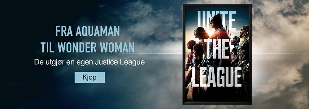 Fra Aquaman til Wonder Woman. De utgjør en egen Justice League. Kjøp