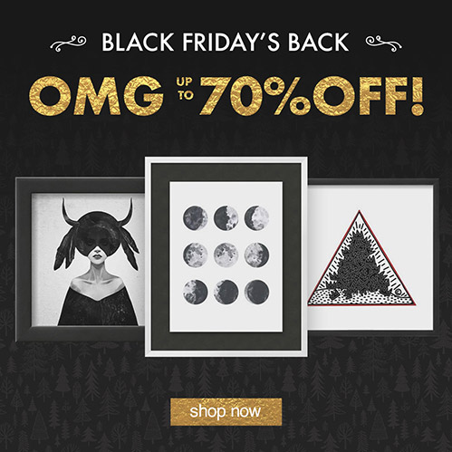 OMG: Up to 70% Off! Black Friday's Back. Shop Now