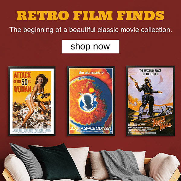 Retro Film Finds. The beginning of a beautiful classic movie collection. Shop Now