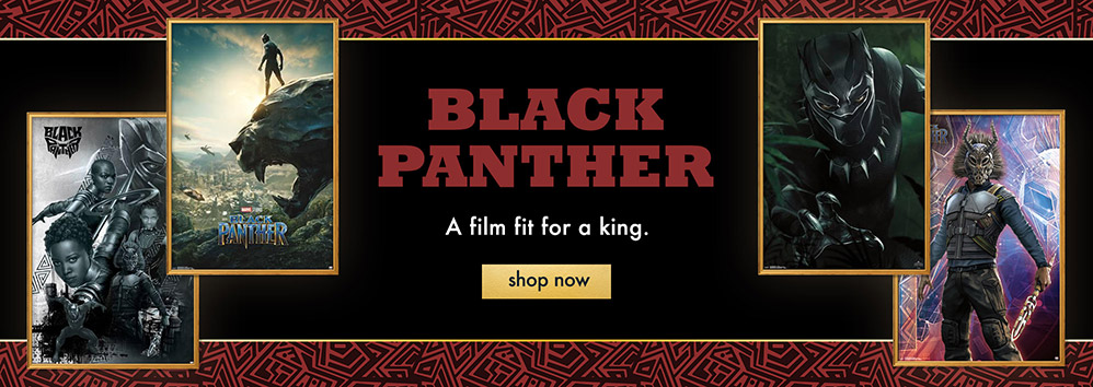 Black Panther. A film fit for a king. Shop Now