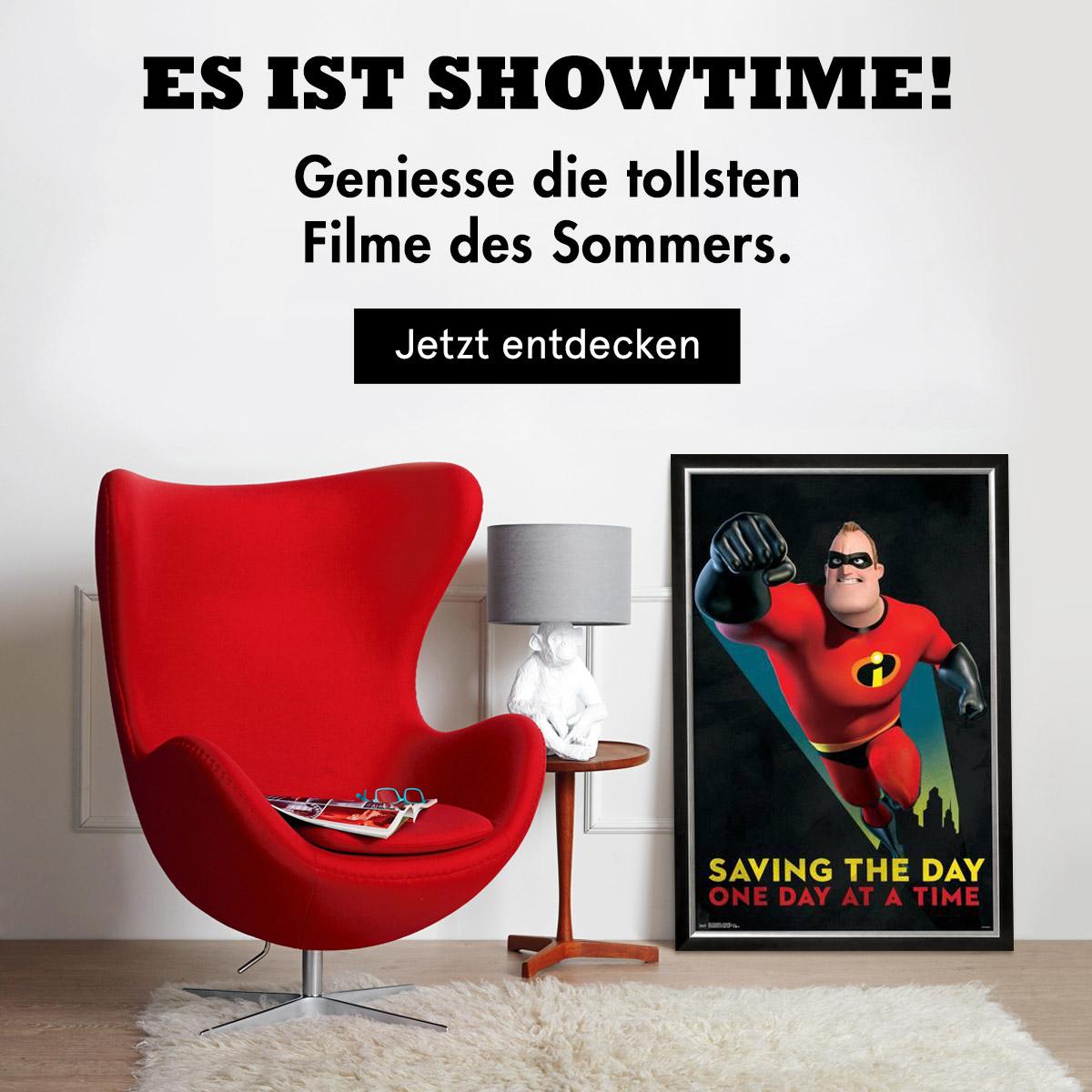 Es ist Showtime! Geniesse die tollsten Filme des Sommers. Jetzt entdecken