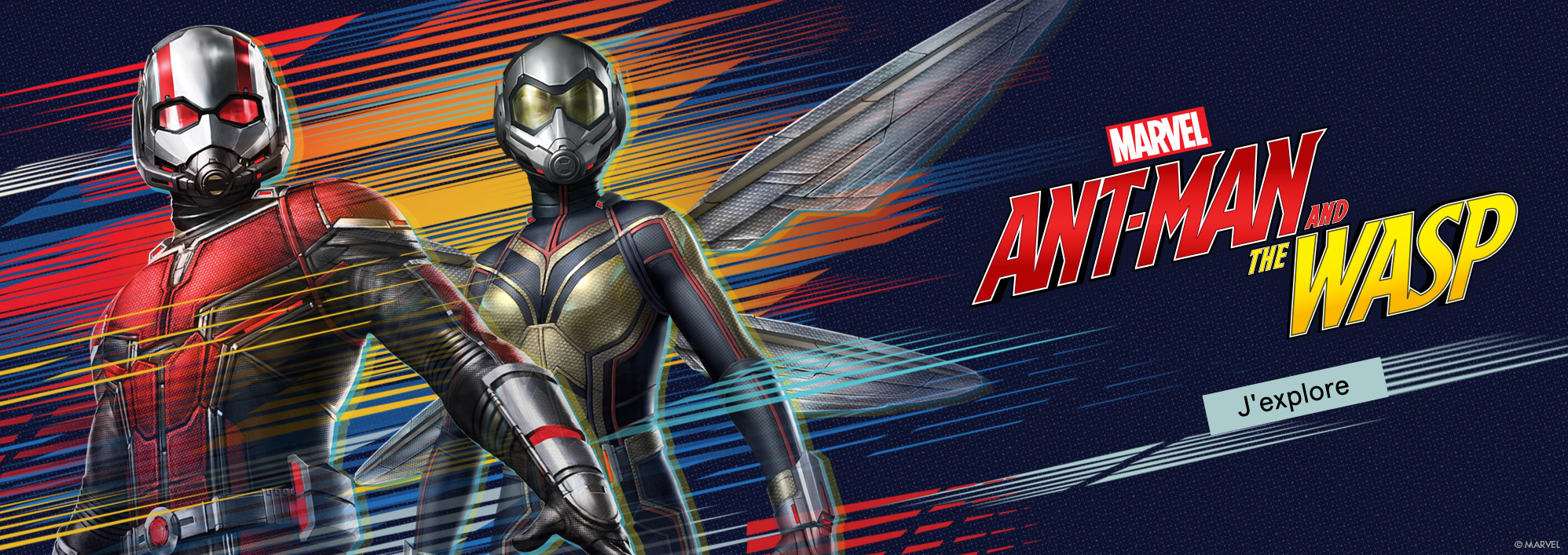 Marvel. Ant-Man and the Wasp. J'explore.