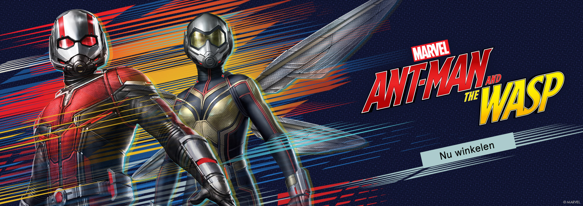 Marvel. Ant-Man and the Wasp. Nu winkelen.