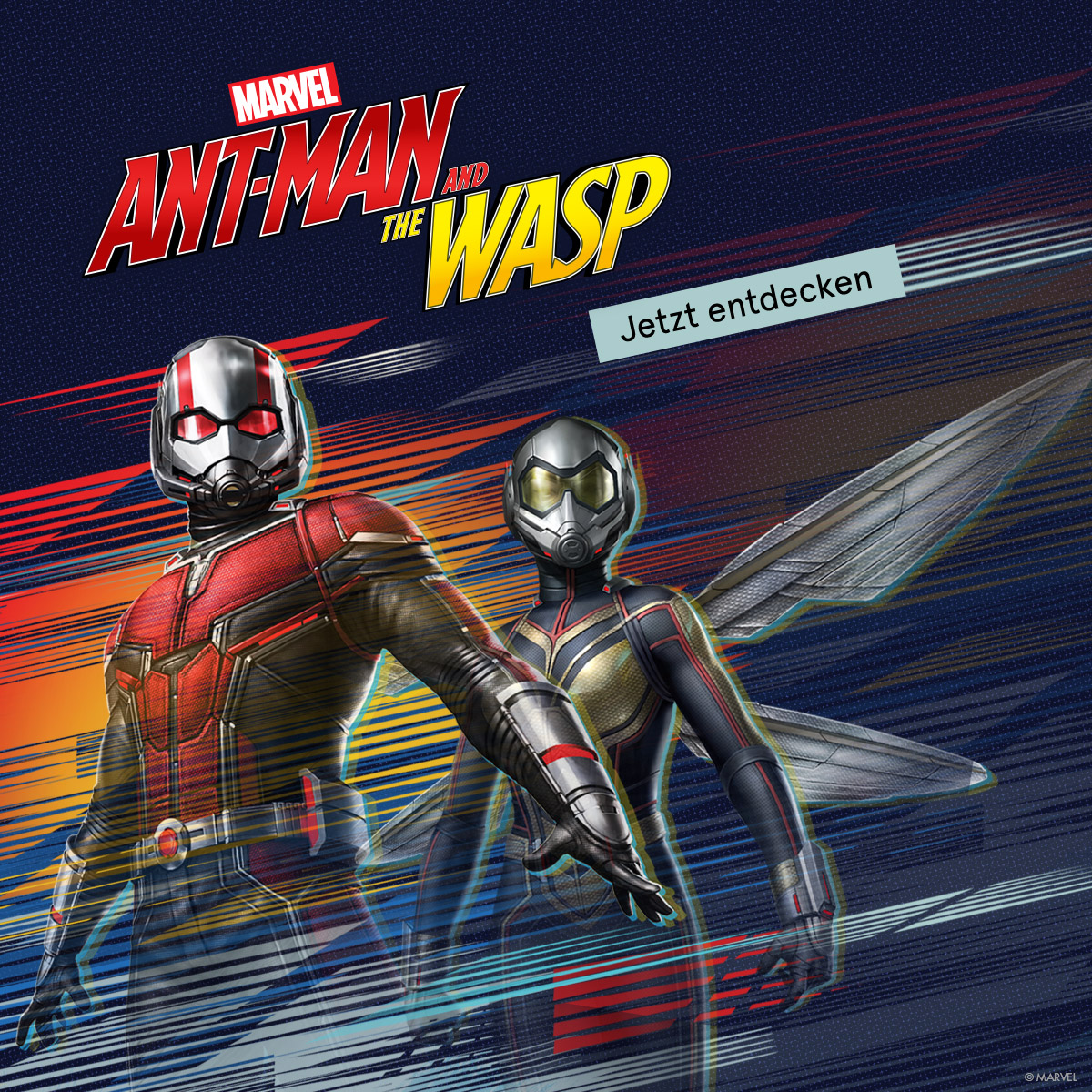 Marvel. Ant-Man and the Wasp. Jetzt entdecken.